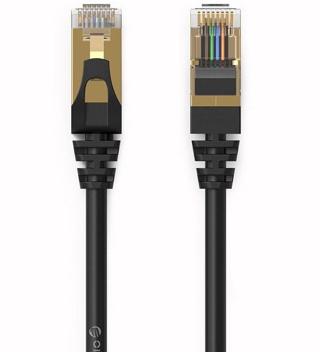 کابل شبکه CAT۷ اوریکو مدل PUG-C۷ به طول ۱۰ متر