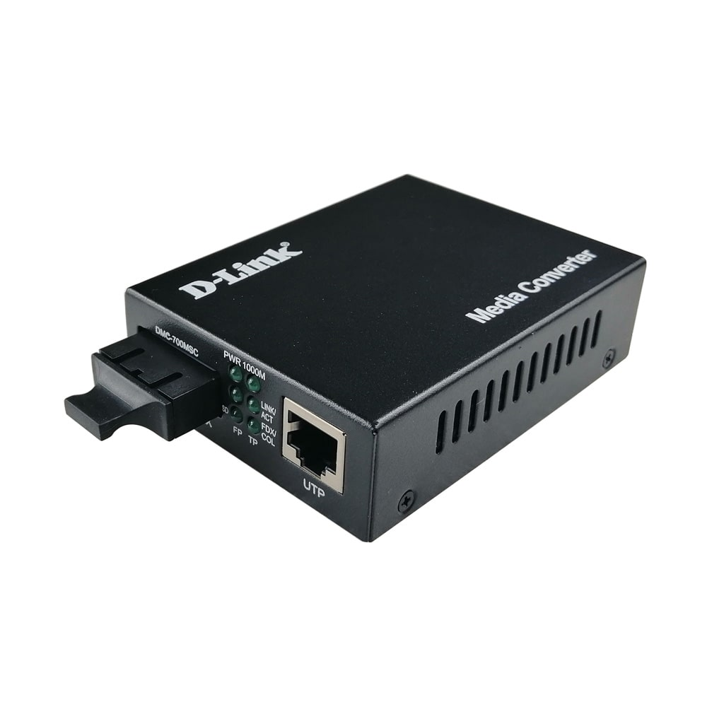 main images مبدل فیبر نوری به اترنت دی-لینک مدل DMC-700MSC