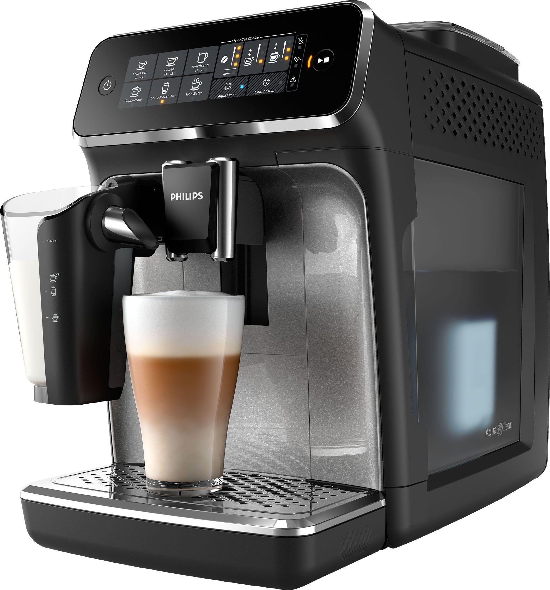 تصویر اسپرسو ساز فیلیپس هلند Philips Kaffeevollautomat 3200 Serie EP3246/70 LatteGo