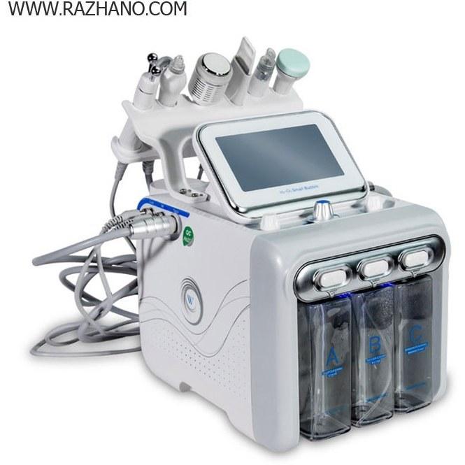 تصویر دستگاه پاکساز و جوانساز پوست هیدرافیشیال مدل 6 در 1 6 in 1 Hydro Diamond Peeling Hydra Aqua Peel Hydrogen Equipment