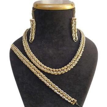 نیم ست طلا 18 عیار آزوریت کد H112  