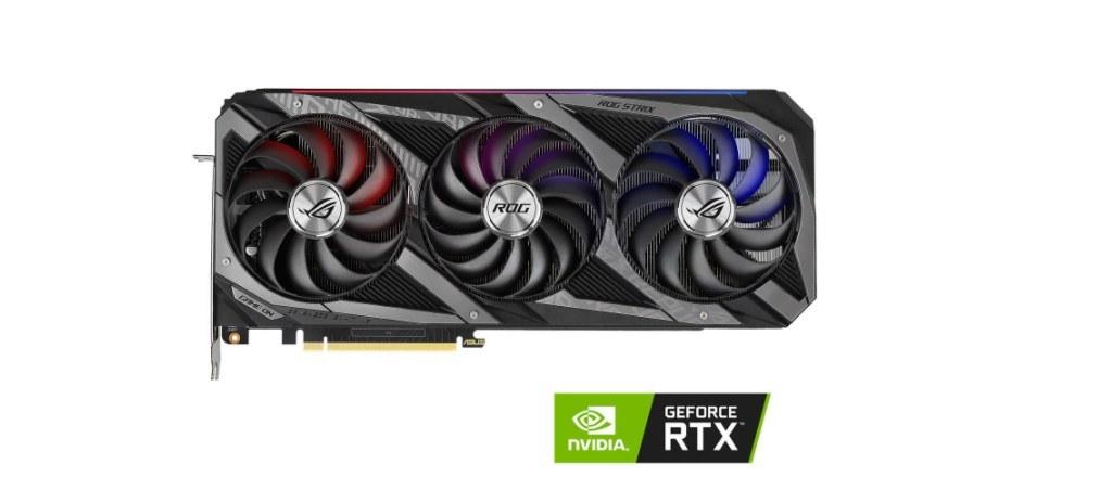 تصویر کارت گرافیک ایسوس مدل  ASUS ROG Strix GeForce RTX 3070 Ti 8GB