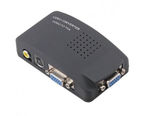 تصویر دستگاه مبدل AV TO VGA