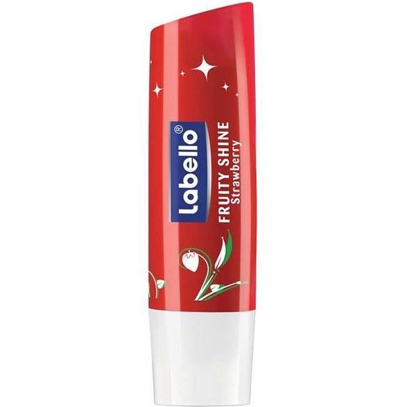بالم لب لابلو مدل Fruity Shine Strawberry | Labello Fruity Shine Strawberry Lip Care