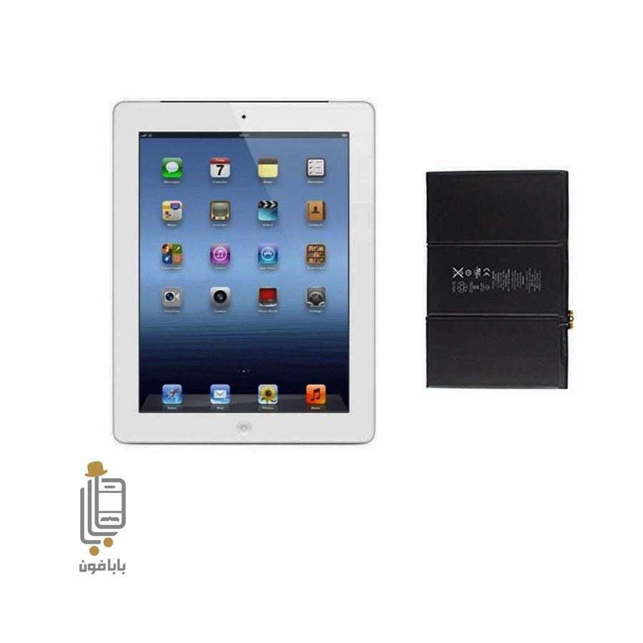 تصویر باتری اورجینال Apple iPad 4,2012