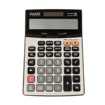 ماشین حساب مهندسی کاسیو DJ-240D Plus | Casio DJ-240D Plus