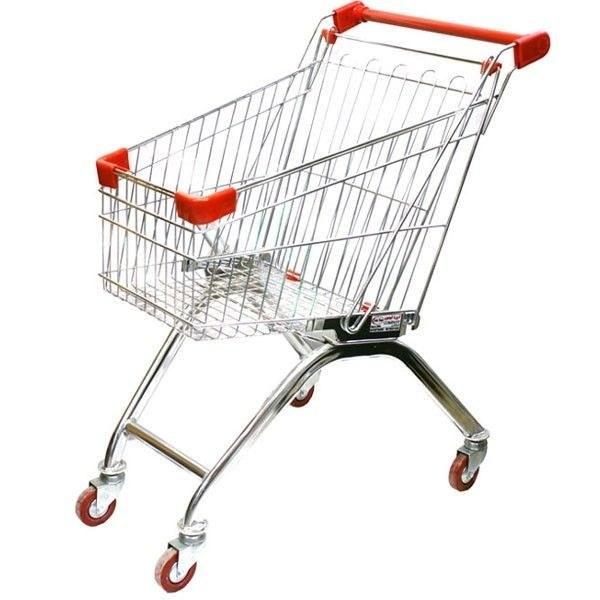 تصویر چرخ خرید فروشگاهی ٦٠ لیتری