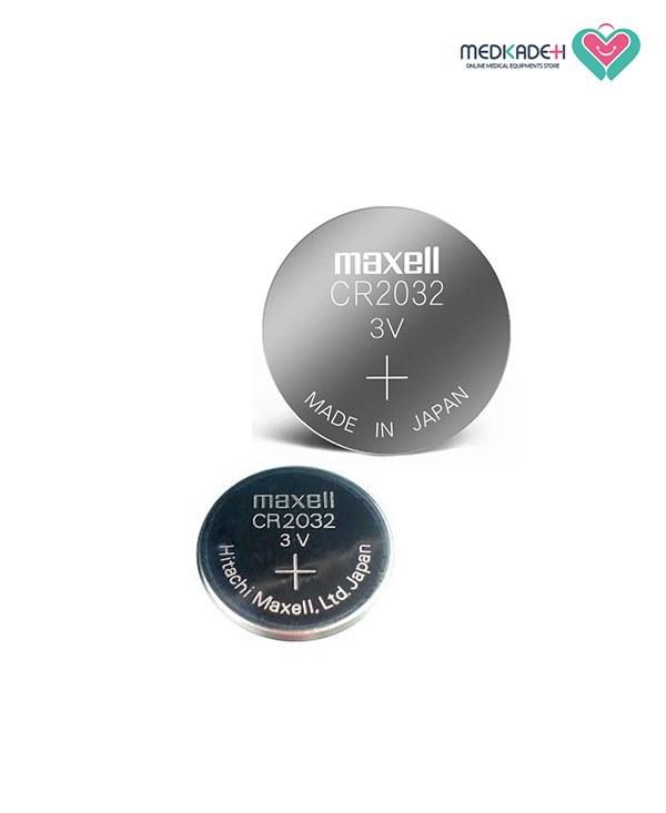 تصویر باتری سکه ای مکسل مدل Maxell Lithium CR2032