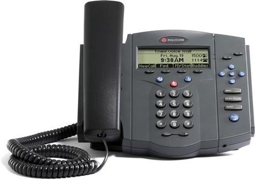 تصویر SoundPoint 430 IP Phone تلفن VoIP پلی کام مدل 430 SoundPoint تحت شبکه