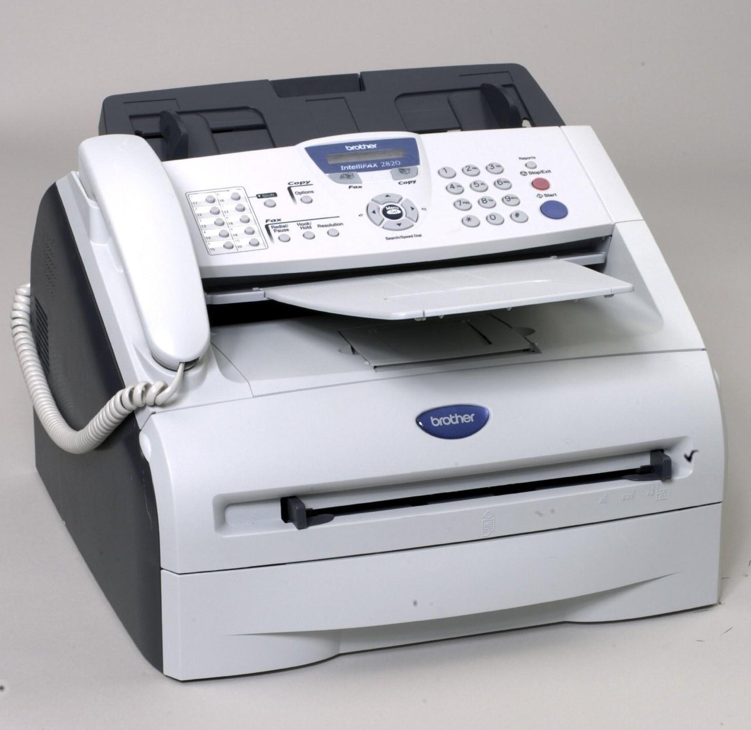 تصویر فکس برادر مدل: 2820 Brother FAX-2820Fax  Machine