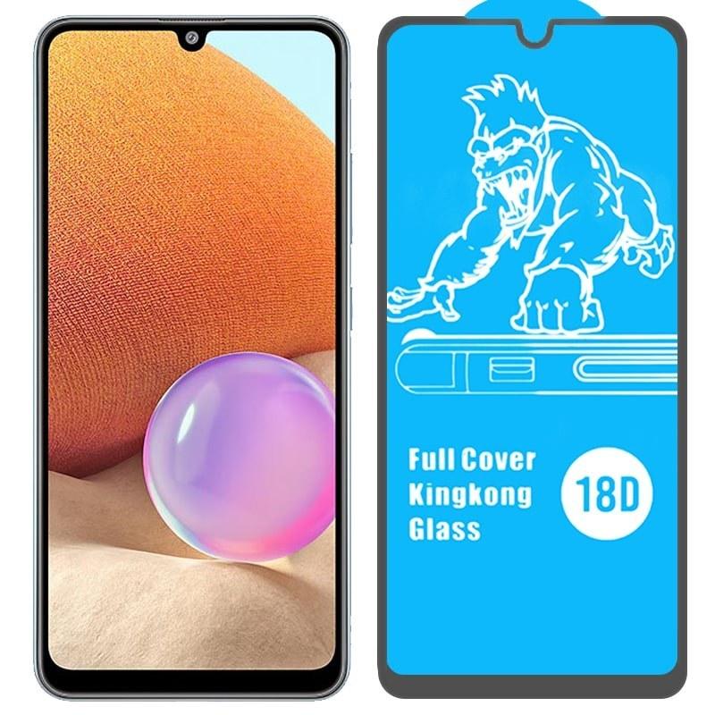تصویر گلس ایربگ دار محافظ صفحه نمایش مناسب برای گوشی Samsung Galaxy A32 4G / 5G مدل King Kong از برند آرمور گلس