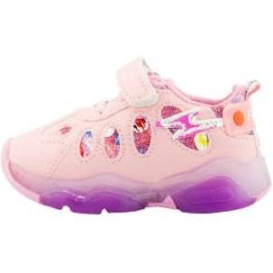 کفش راحتی چراغدار دخترانه کد z29
