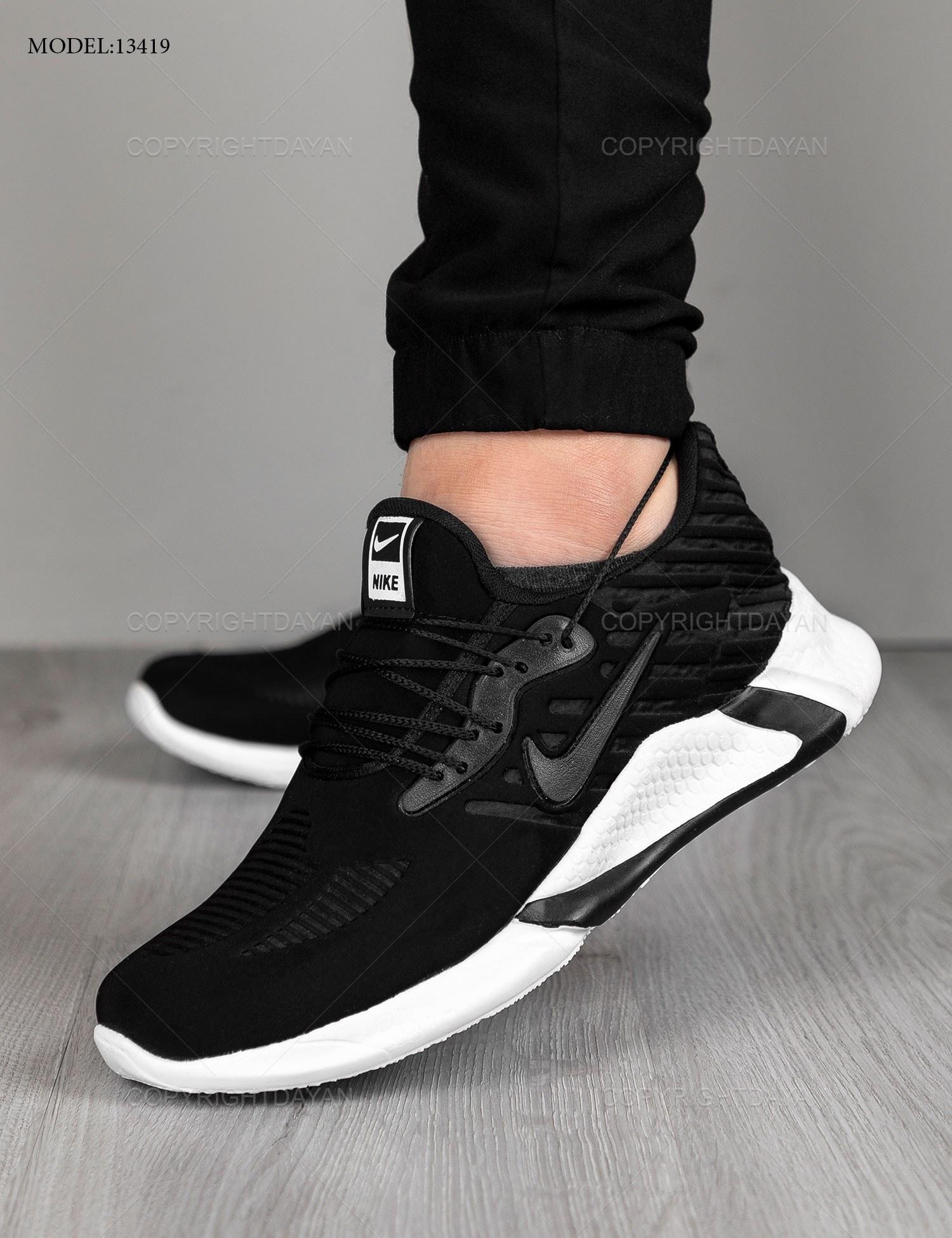 عکس کفش ورزشی مردانه Nike مدل 13419  کفش-ورزشی-مردانه-nike-مدل-13419