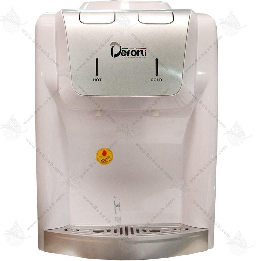 تصویر آبسردکن دفورلی Deforli مدل DQTD-1172W Water Dispenser Deforli Model DQTD-1172W