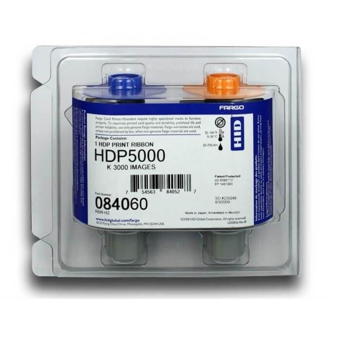 تصویر ریبون مشکی پرینتر فارگو HDP 5000 مدل 84060 اصلی