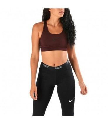 نیم تنه زنانه نایک زرشکی Nike Swoosh Sports Bra 842398-652