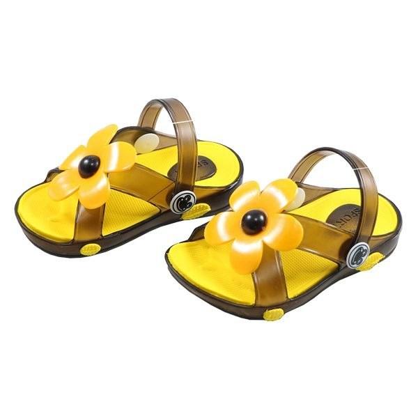 تصویر صندل بچه گانه پاپا مدل شادی زرد
