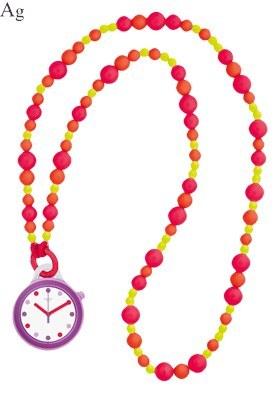 تصویر ساعت گردنبندی سواچ مدل PNP100N Swatch PNP100N Necklace