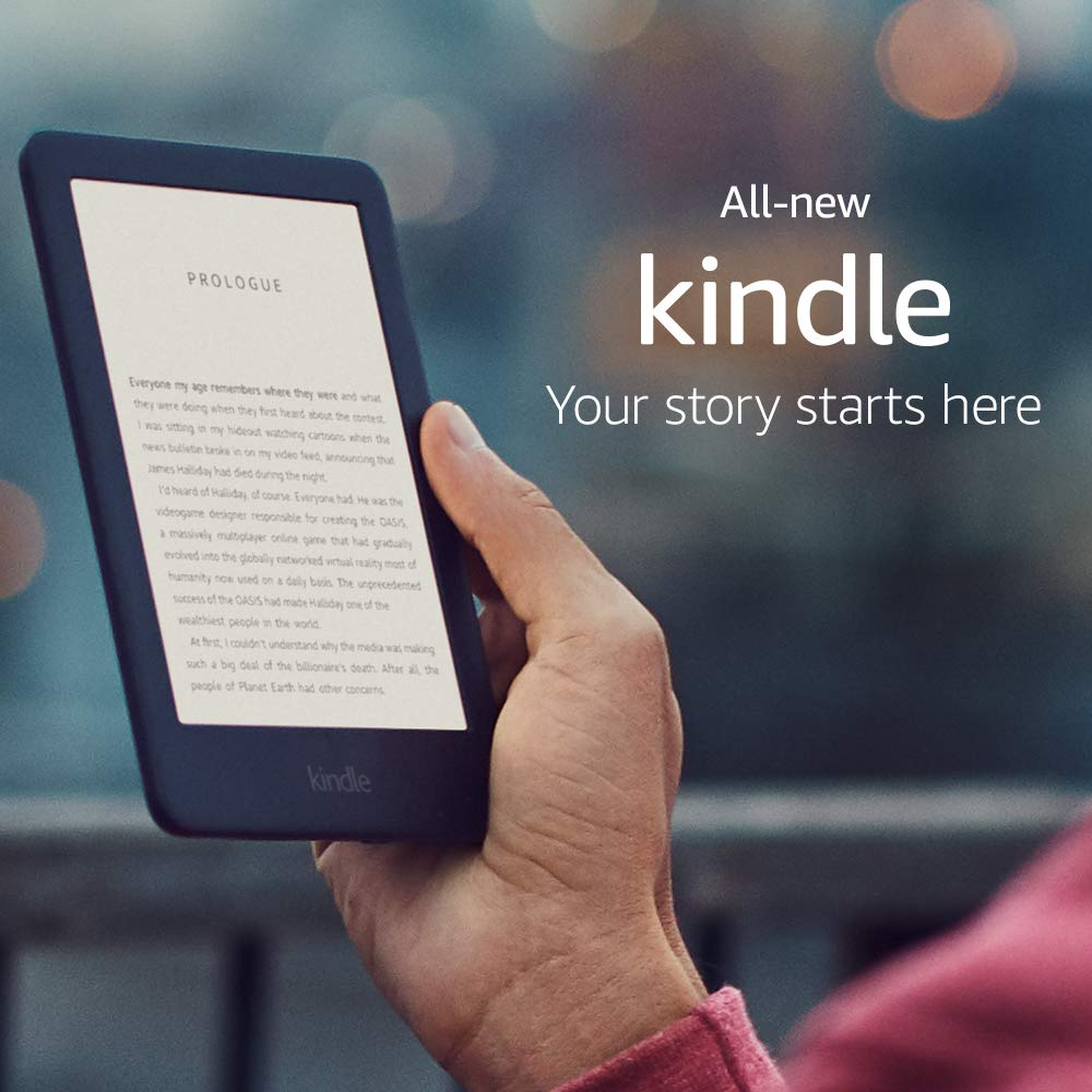 All-new Kindle - Now with a Built-in Front Light - Black (International Version)