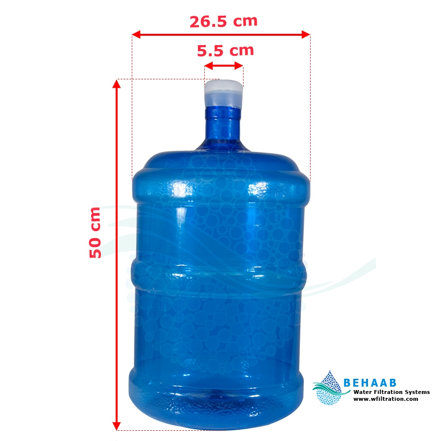 تصویر مخزن آبسردکن 20 لیتری با درپوش 20 Litre Water Dispenser Bottle With CAP