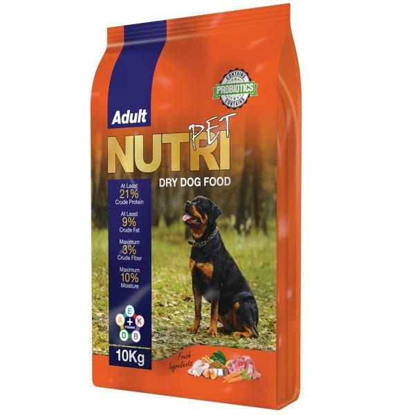 غذای خشک سگ نوتری با پروتئین 21% 10 کیلوگرم