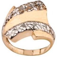 انگشتر طلا 18 عیار زنانه کد R168  