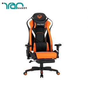 main images صندلی گیمینگ میشن مدل Meetion CHR22 Leather Reclining Gaming E-Sport Chair with Footrest CHR22