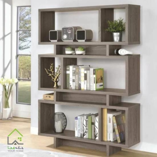 main images کتابخانه چوبی مدل باکسی