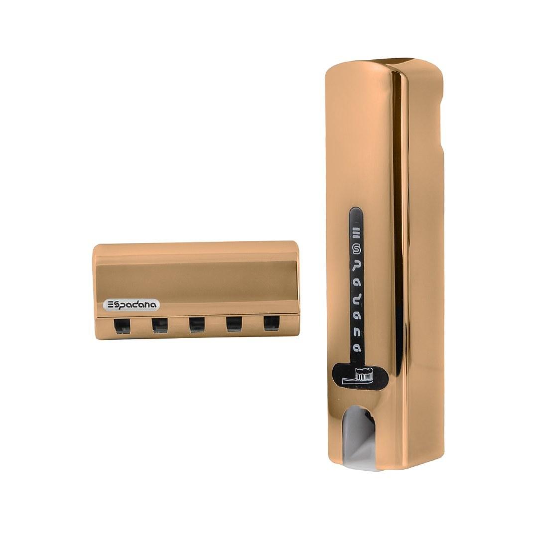 تصویر دستگاه خمیر دندان و جامسواکی اسپادانا طلایی