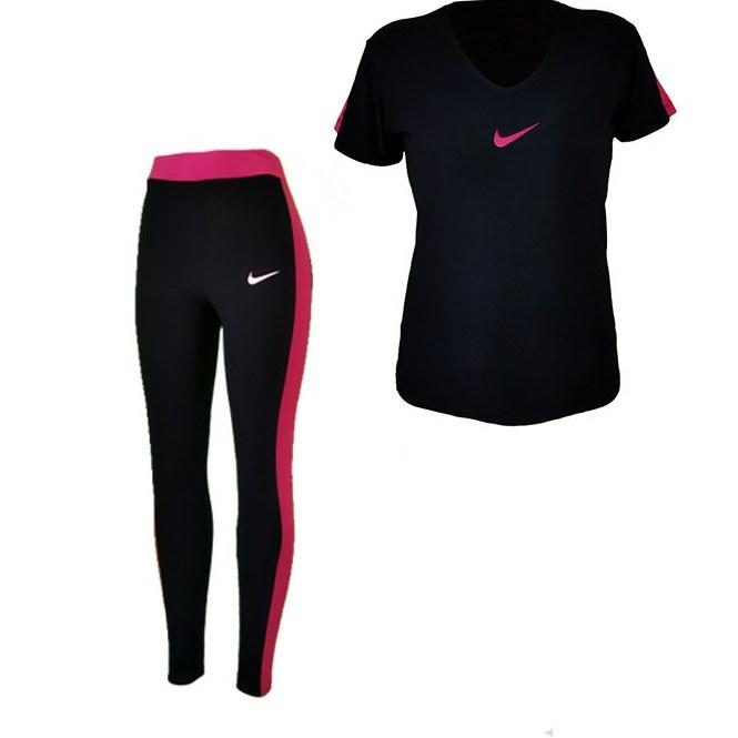 تصویر ست ورزشی تیشرت شلوار زنانه کد 026
