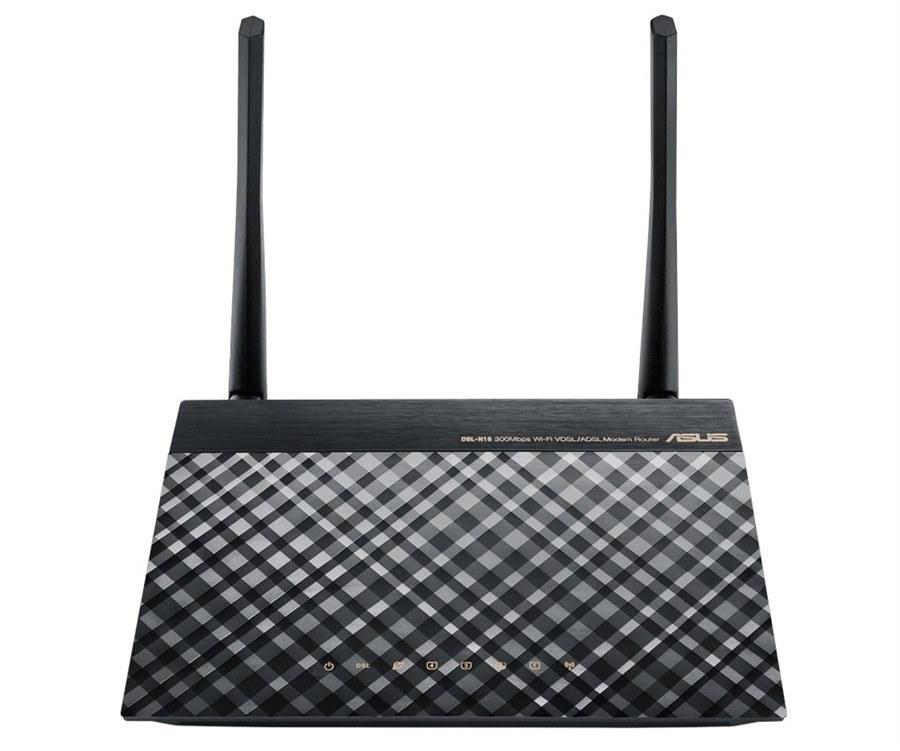 تصویر مودم روتر ایسوس مدل ان 16 مودم روتر ADSL ایسوس DSL-N16 300Mbps Wi-Fi VDSL/ADSL Modem Router