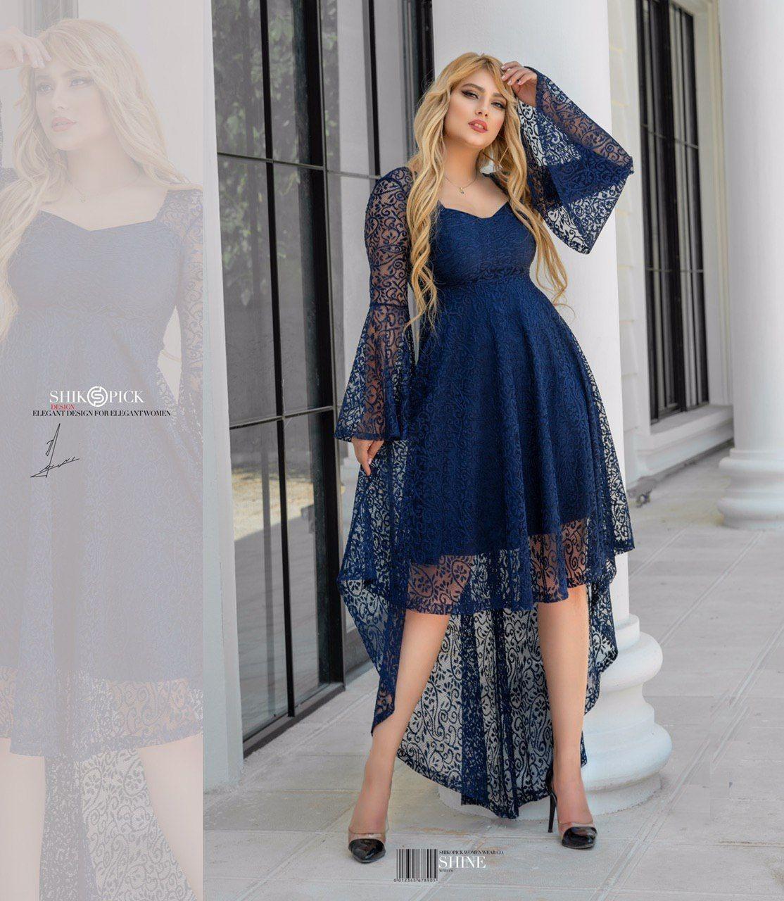 تصویر لباس مجلسی شیکوپیک مدل یاس