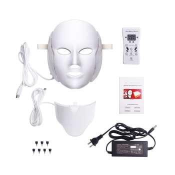 دستگاه جوان سازی پوست یونی پاور مدل ماسک ال ای دی 7 colors |