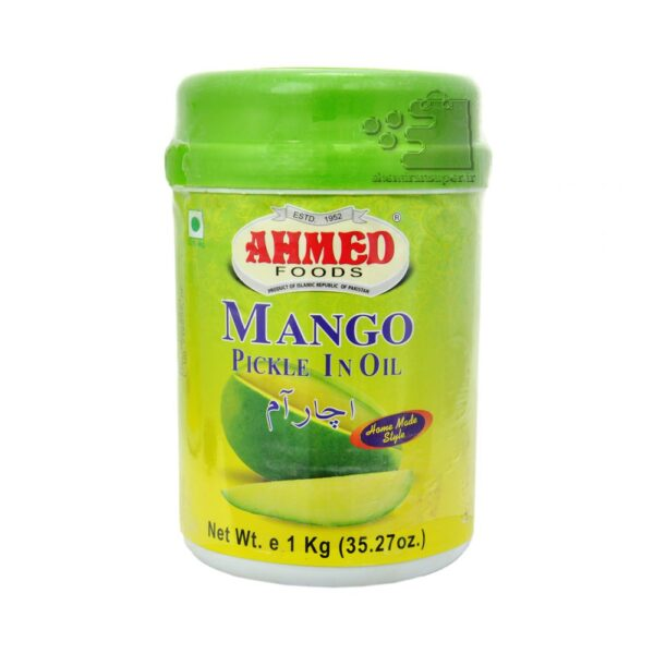 تصویر ترشی انبه احمد ۱ کیلو گرم – َAhma mango pickle in oil