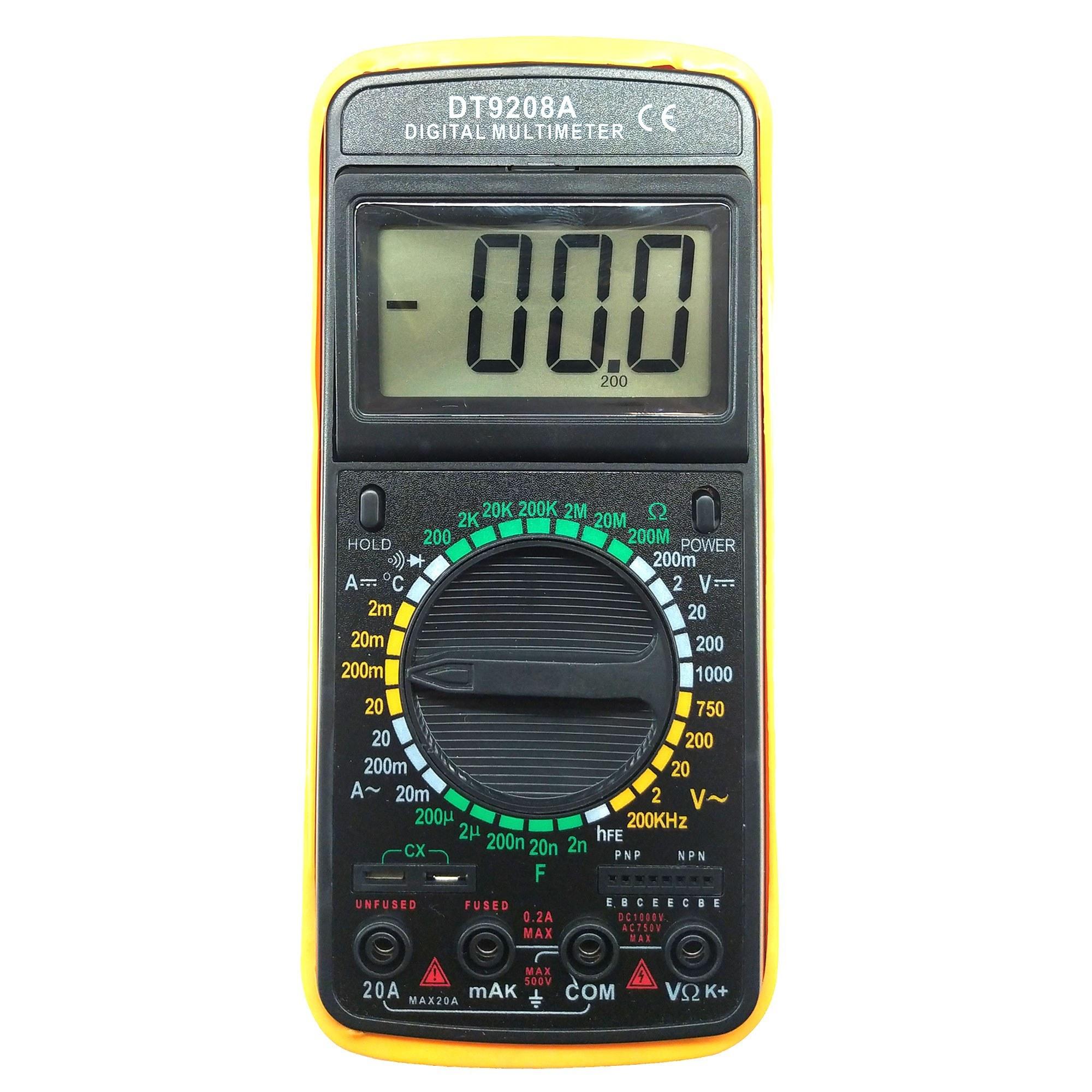 عکس مولتی متر دیجیتال مدل DT9208A  مولتی-متر-دیجیتال-مدل-dt9208a