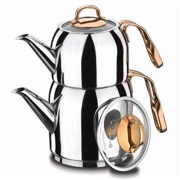 تصویر سرویس تهیه چای کرکماز مدل گلدیا کد 193