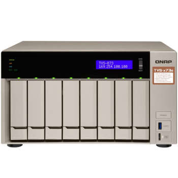 ذخیره ساز تحت شبکه کیونپ مدل QNAP TVS-873e-4G | QNAP TVS-873e-4G NAS