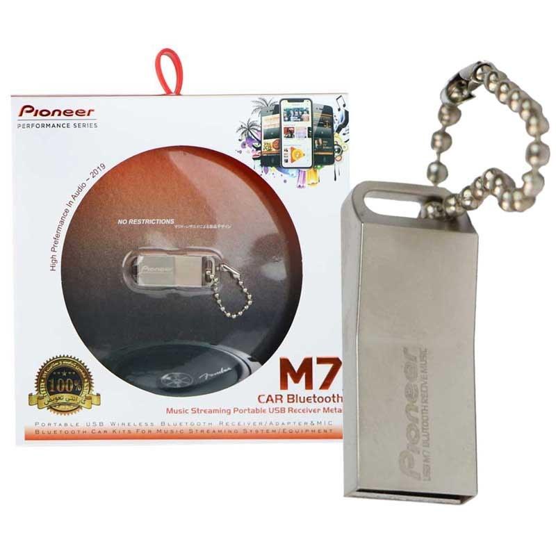 تصویر گیرنده بلوتوث Pioneer M7 USB
