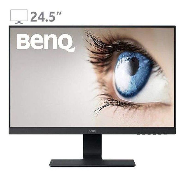 تصویر مانیتور 24.5 اینچ بنکیو مدل جی ال 2580 اچ مانیتور بنکیو GL2580H Stylish Eye-Care LED Monitor