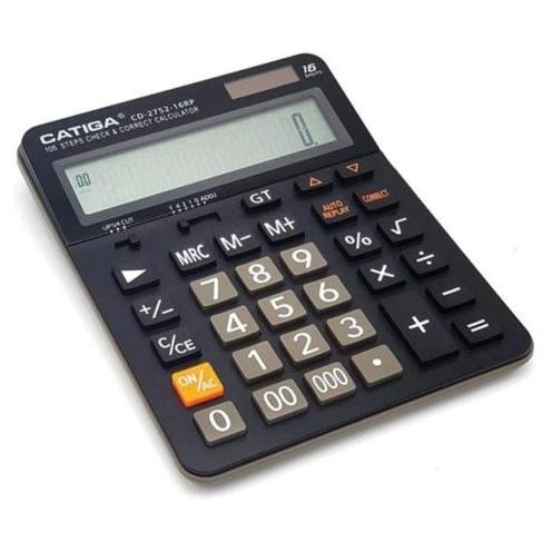 تصویر ماشین حساب رومیزی مدل CD-2752-16RP کاتیگا