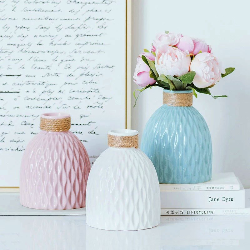 تصویر گلدان رومیزی مدرن فلورانس