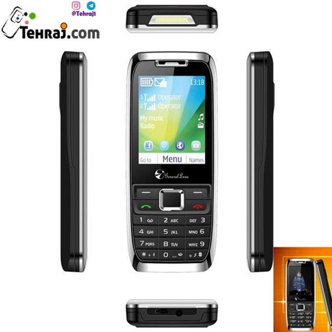 گوشی موبایل دکمه ای جی ال ایکس glx e51  اورجینال