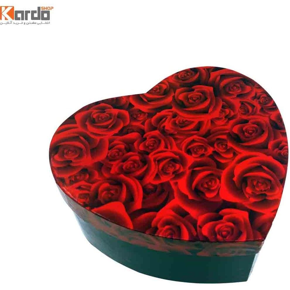 تصویر جعبه هدیه و کادو طرح قلب(۳عددی)