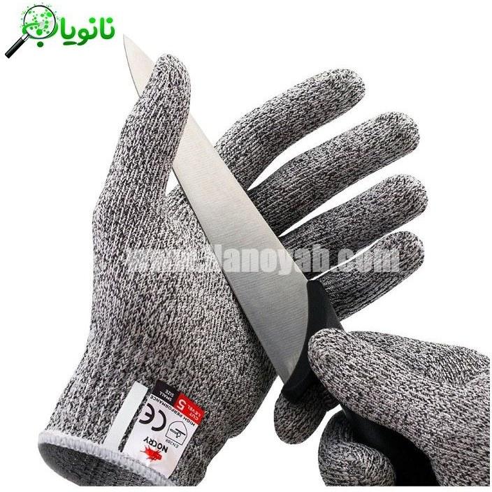 عکس دستکش ایمنی ضد برش NoCry NoCry Cut Resistant Gloves دستکش-ایمنی-ضد-برش-nocry