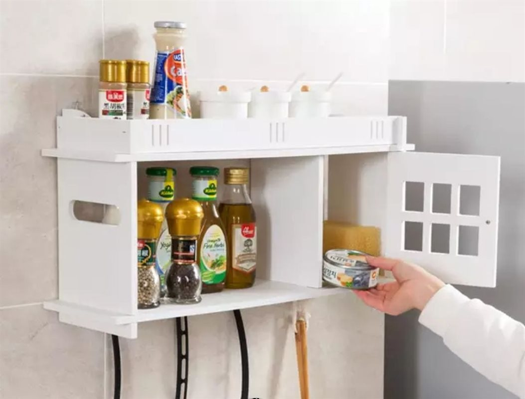 شلف کاربردی آشپزخانه | جنس PVC درجه 1