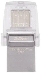 تصویر فلش مموری 32 گیگابایت Kingston مدل DataTraveler microDuo 3C