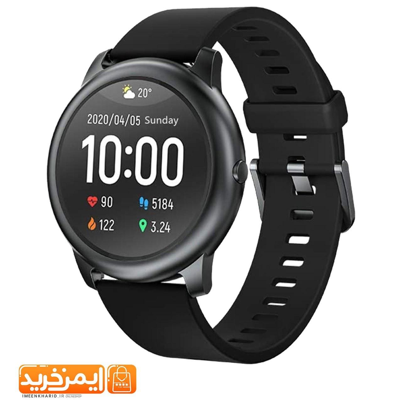 عکس ساعت هوشمند هایلو solar شیائومی SL05 haylou smart watch solar SL05 ساعت-هوشمند-هایلو-solar-شیایومی-sl05