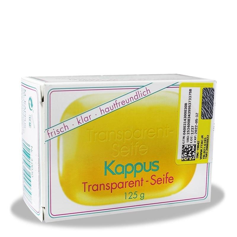 صابون گلیسیرینه شفاف کاپوس Kappus Transparent Soap