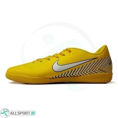 کفش فوتسال نایک مرکوریال طرح زرد Nike Mercurial 2018