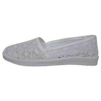 کفش راحتی تابستانه زنانه لاماسو مدل Gipoor whit 01 |